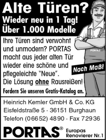 Traueranzeige von Heinrich Kemler von HERSFELDER ZEITUNG