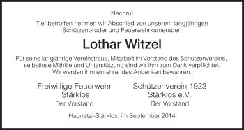 Zur Gedenkseite von Lothar