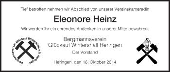 Zur Gedenkseite von Eleonore