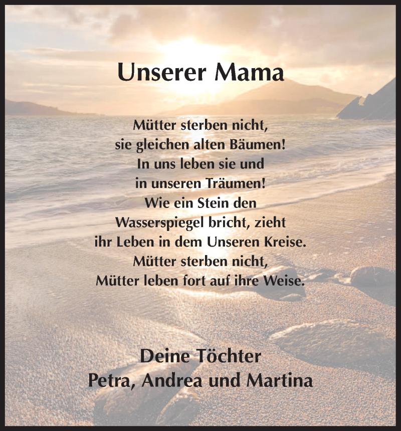 Trauer mama 32 Trauersprüche
