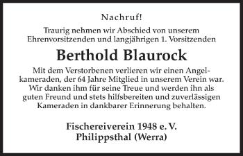 Zur Gedenkseite von Berthold